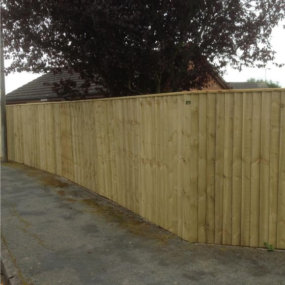 Vertical Board Fencing Quality Fencing Chester