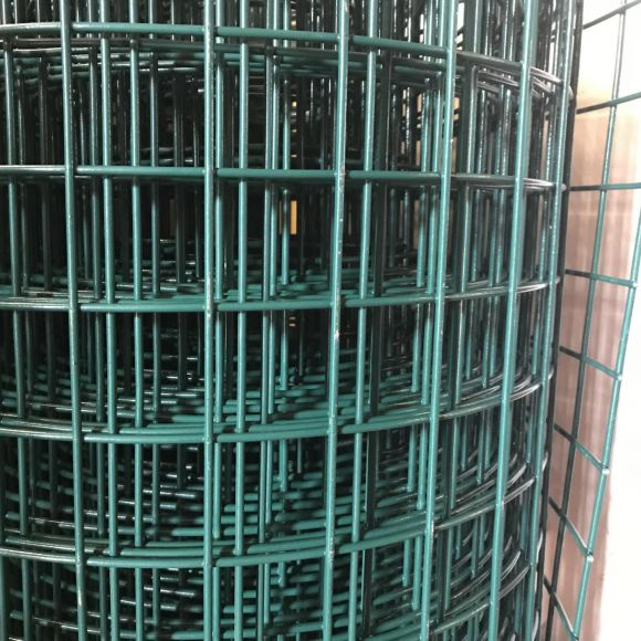 3.0mm PVC Coated Weld Mesh   Wire Fencing Cheshire