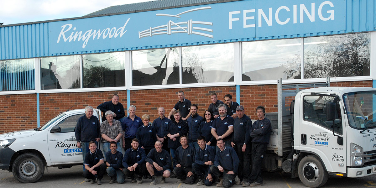 The Ringwood Fencing Team