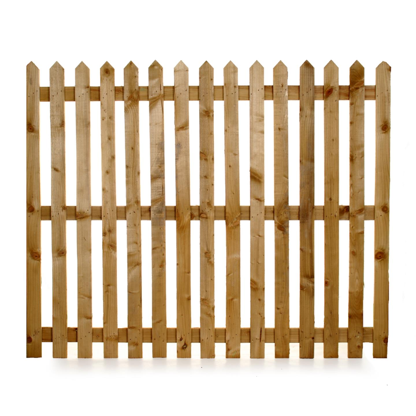 Paling Panels   Picket Fencing Cheshire   Ringwood Garden