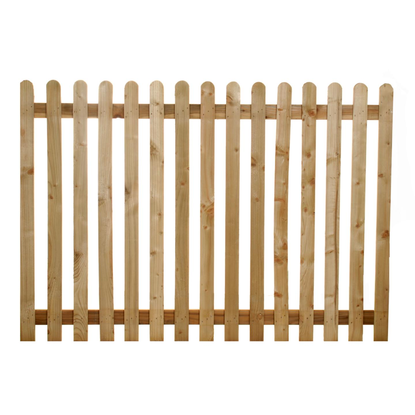 Paling Panels | Picket Fencing Cheshire | Ringwood Garden Fencing